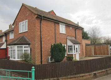 Thumbnail 3 bed end terrace house for sale in Compton Crescent, Northolt