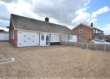 Thumbnail 3 bed semi-detached bungalow for sale in Suffield Way, King's Lynn