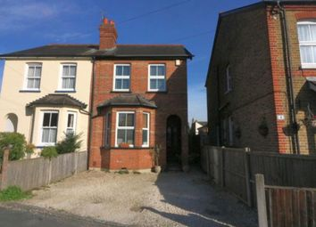 Thumbnail 3 bedroom semi-detached house for sale in Clarence Street, Egham