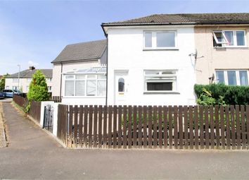 Thumbnail 2 bed semi-detached house for sale in Robert Burns Avenue, Clydebank