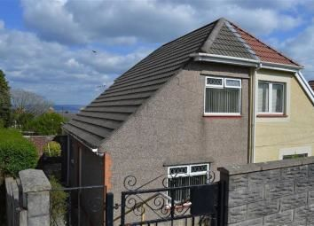 Thumbnail 2 bedroom semi-detached house to rent in Tanymarian Road, Mayhill, Swansea