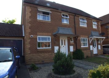Thumbnail 3 bedroom semi-detached house to rent in Blanchard Close, Woodley, Reading