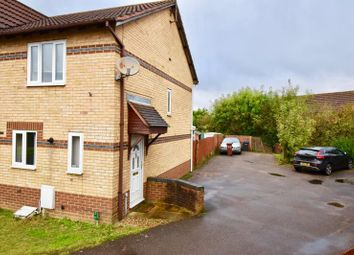 Thumbnail 2 bed end terrace house to rent in Reims Court, Duston, Northampton