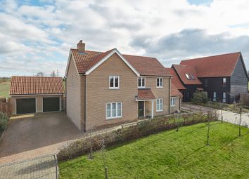 Thumbnail 4 bed detached house for sale in Manor Farm Court, Lower End, Swaffham Prior, Cambridge