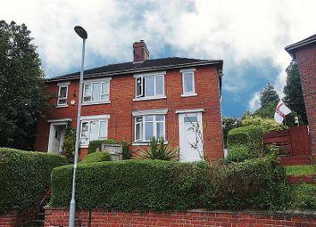 Thumbnail 3 bedroom semi-detached house for sale in Hazelhurst Road, Pittshill, Stoke-On-Trent