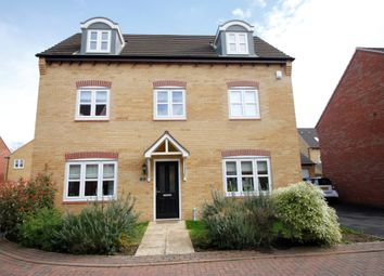 Thumbnail 5 bedroom detached house for sale in Chedworth Close, Peterborough