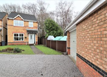 Thumbnail 3 bed detached house for sale in Baker Crescent, Lincoln