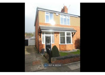 Thumbnail 3 bed semi-detached house to rent in Holmlands Road, Darlington