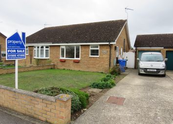 Thumbnail 2 bed semi-detached bungalow for sale in Kingswood Avenue, Carlton Colville, Lowestoft