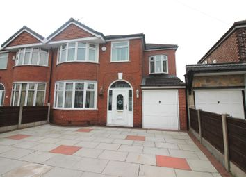 Thumbnail 4 bed semi-detached house for sale in Abingdon Road, Urmston, Manchester