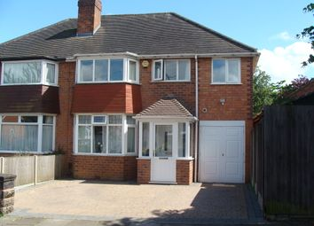Thumbnail 4 bed semi-detached house for sale in Chadwick Avenue, Rednal
