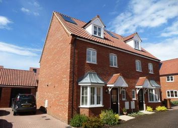 Thumbnail 4 bed property to rent in Blazey Drive, Wymondham