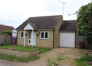 Thumbnail 2 bed detached bungalow to rent in School Lane, Maxey, Peterborough