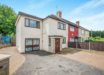 Thumbnail 4 bed end terrace house for sale in Primley Avenue, Walsall
