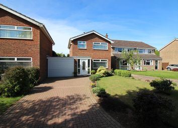 Thumbnail 3 bedroom link-detached house for sale in Foxcotte Close, Norwich