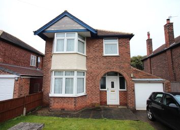 Thumbnail 3 bedroom detached house for sale in Highfield Road, Nuthall, Nottingham