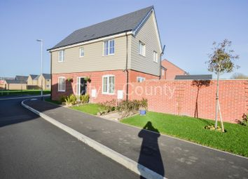 Thumbnail 3 bed detached house for sale in Goldcrest Road, Crowland, Peterborough