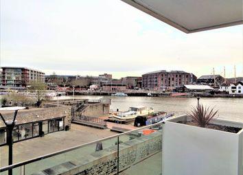 Thumbnail 2 bed flat to rent in Invicta, Millennium Promenade, Bristol