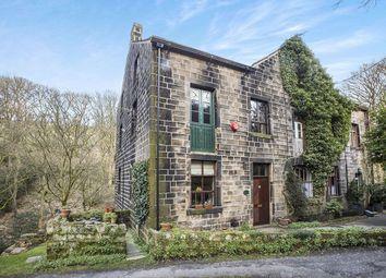 Thumbnail 4 bed semi-detached house for sale in Castle Gate, Cragg Vale, Hebden Bridge