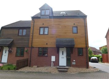 Thumbnail 5 bedroom end terrace house for sale in Ulverston Crescent, Broughton, Milton Keynes