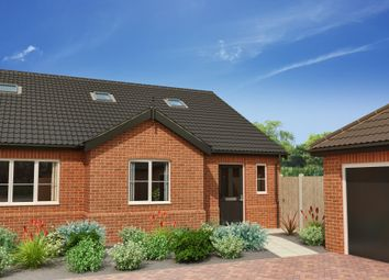 Thumbnail 3 bed semi-detached bungalow for sale in Common Road, Hemsby, Great Yarmouth
