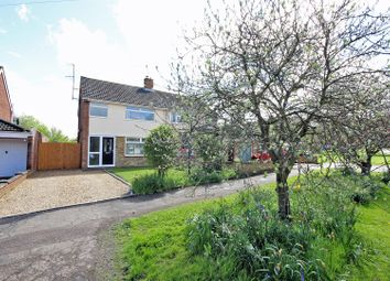 Thumbnail 3 bed semi-detached house for sale in Woodland Drive, Bromham, Bedford