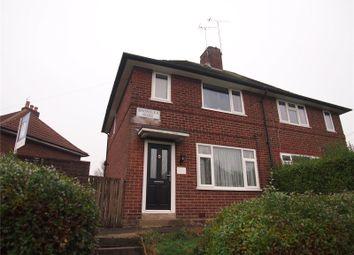 Thumbnail 2 bedroom semi-detached house for sale in Broadlea Road, Leeds, West Yorkshire