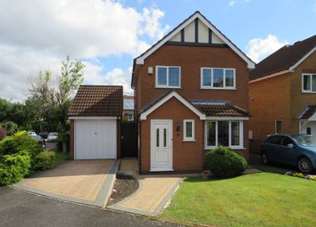 Thumbnail 3 bed detached house for sale in Greenford Close, Nuthall, Nottingham