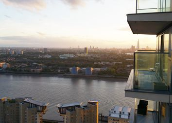Thumbnail 2 bed flat for sale in The Landmark, East Tower, 24 Marsh Wall, London