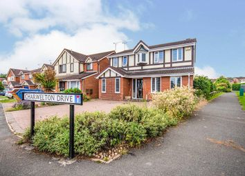 Thumbnail 4 bed detached house for sale in Charwelton Drive, Rugby