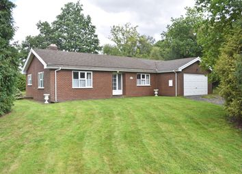 Thumbnail 3 bed detached bungalow for sale in Abbeycwmhir Road, Llandrindod Wells