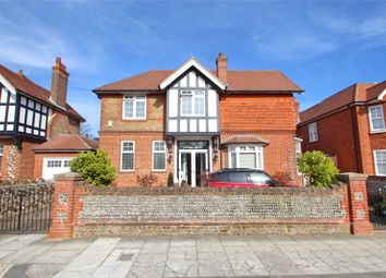 Thumbnail 4 bedroom detached house for sale in Madeira Avenue, Worthing, West Sussex