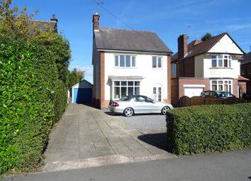Thumbnail 3 bed detached house for sale in Broom Leys Road, Coalville, Leicestershire