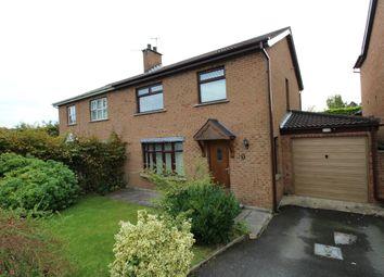 Thumbnail 4 bed semi-detached house for sale in Ashvale Drive, Hillsborough