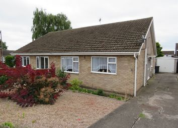 Thumbnail 2 bedroom semi-detached bungalow for sale in Brampton Close, Mickleover, Derby