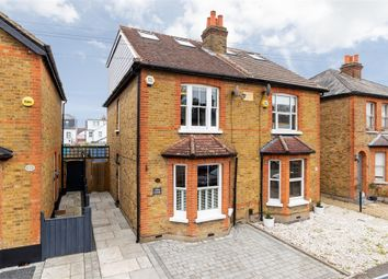 Thumbnail 4 bed semi-detached house for sale in Albany Road, Hersham, Surrey