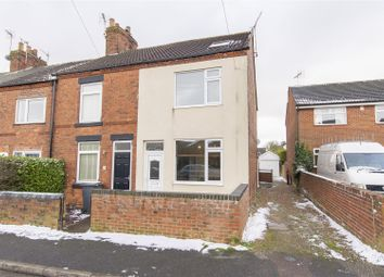 Thumbnail 2 bed terraced house for sale in Gray Street, Clowne, Chesterfield
