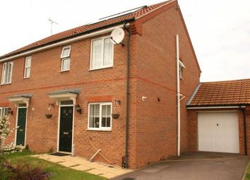 Thumbnail 3 bed semi-detached house to rent in St Bedes Drive, Boston