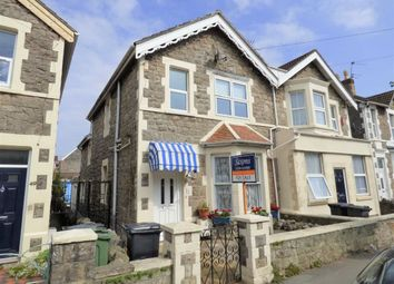 Thumbnail 3 bedroom semi-detached house for sale in Clevedon Road, Weston-Super-Mare