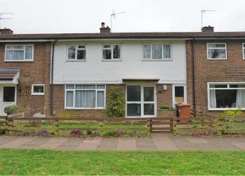 Thumbnail 3 bedroom end terrace house for sale in Manor View, Stevenage