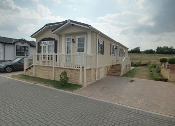 Thumbnail 2 bed mobile/park home for sale in Yarwell Mill, Yarwell, Peterborough