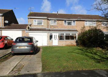 Thumbnail 5 bedroom semi-detached house for sale in Hamble Road, Greenmeadow, Swindon