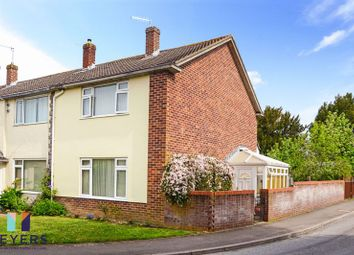 Thumbnail 3 bed end terrace house for sale in Fishers Close, Blandford Forum