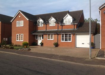 Thumbnail 5 bed detached house for sale in Allwood Avenue, Dereham