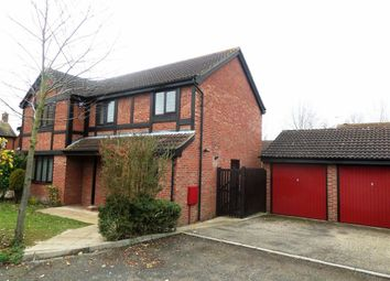 Thumbnail 4 bed detached house to rent in Countisbury, Furzton, Milton Keynes
