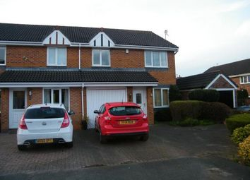 Thumbnail 3 bed semi-detached house for sale in Milton Close, Middlewich, Cheshire