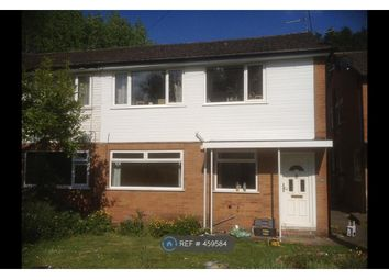 Thumbnail 2 bed maisonette to rent in Atherstone Close, Shirley, Solihull