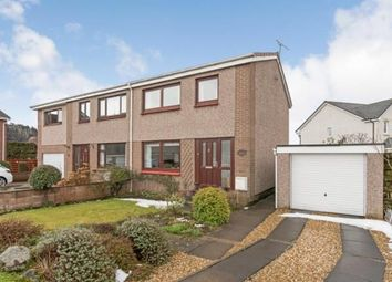 Thumbnail 3 bed semi-detached house for sale in Lothian Crescent, Stirling, Stirlingshire