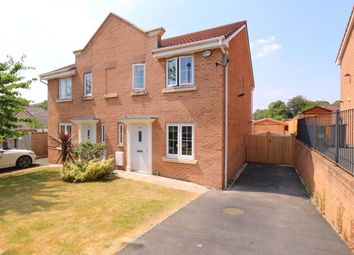 Thumbnail 3 bed semi-detached house for sale in Carrfield, Hyde