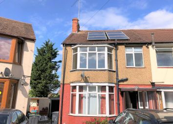 Thumbnail 3 bed end terrace house to rent in Shelley Road, Luton